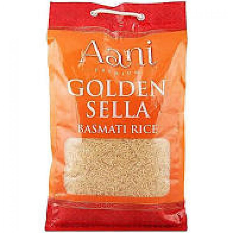 Aani Premium Golden Sella Basmati Rice